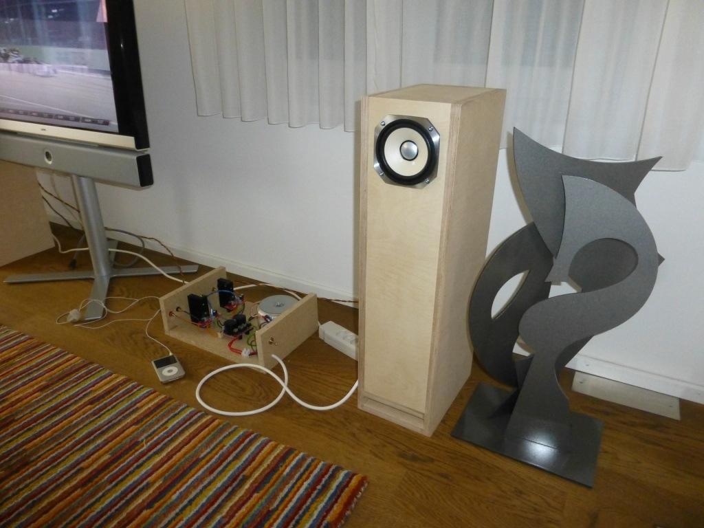 Fullrange Speaker – Michael's Project Page