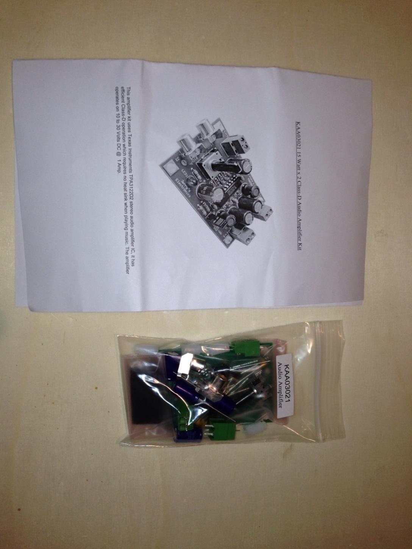 Class D amplifier kit – Michael's Project Page