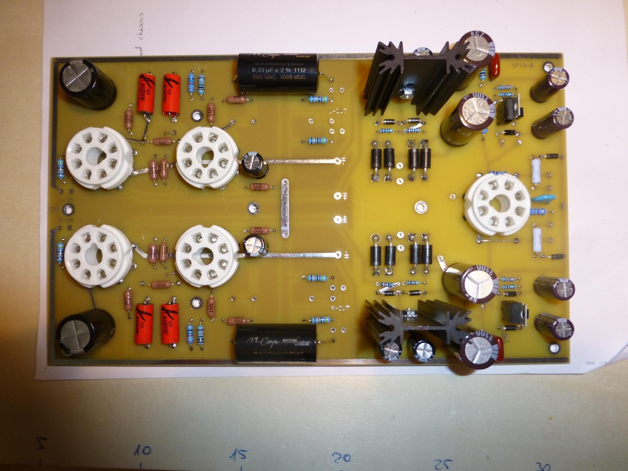 Preamp Sp14 Tubes4hifi  U2013 Michael U0026 39 S Project Page